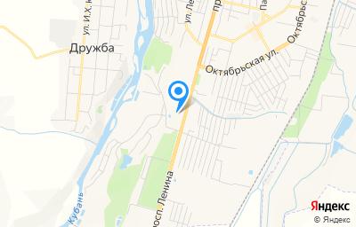 Местоположение на карте пункта техосмотра по адресу г Черкесск, ул Ленина, д 338