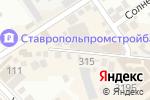Схема проезда до компании ЦентрОбувь в Михайловске
