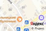 Схема проезда до компании Матрица в Михайловске