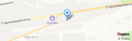 Делайн на карте Ставрополя