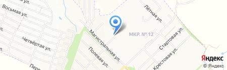 Почтовое отделение №10 на карте Ставрополя
