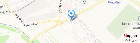 АЗС ТрансОйл-М на карте Ставрополя