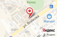 Схема проезда до компании Поплавок в Михайловске