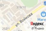 Схема проезда до компании АкваМир в Михайловске