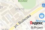 Схема проезда до компании Пятёрочка в Михайловске