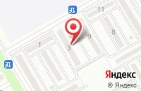 Схема проезда до компании Гармония в Михайловске