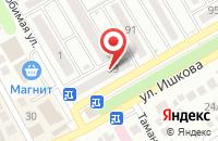 Схема проезда до компании Маркиза в Михайловске