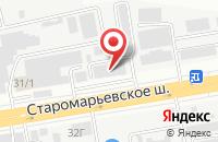 Схема проезда до компании Медчеста-М в Ставрополе
