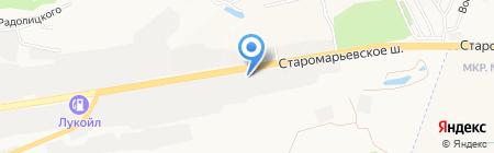 Специализированное управление №6 Нефтегазмонтаж на карте Ставрополя