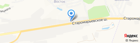 Полковничий Яр на карте Ставрополя