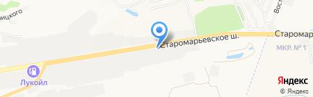 Аврам-Авто на карте Ставрополя