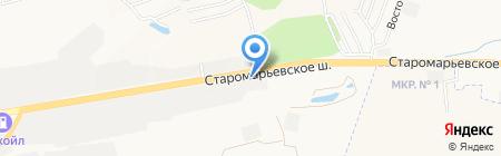 СтавЧТЗ на карте Ставрополя