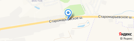 Банкомат АКБ Банк Москвы на карте Ставрополя