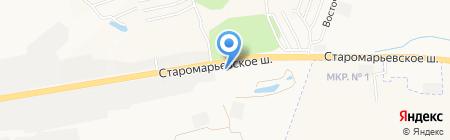КМ-Авто на карте Ставрополя