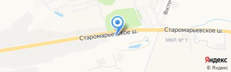 Сувлаки на карте Ставрополя