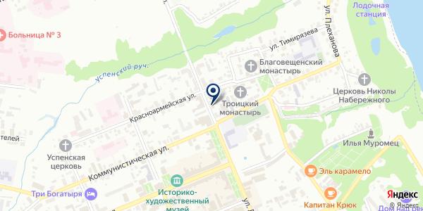 СМУ МУРОМРЕГИОНСЕРВИС на карте Муроме