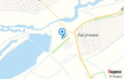 Местоположение на карте пункта техосмотра по адресу Ростовская обл, Волгодонской р-н, х Лагутники, ул Гагарина