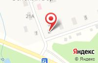 Схема проезда до компании Нефтяник в Матюшино