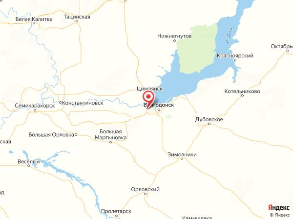 хутор Лагутники на карте