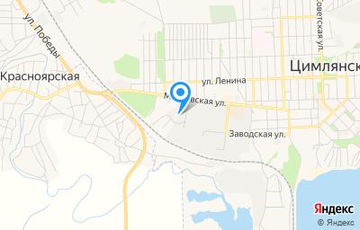 Местоположение на карте пункта техосмотра по адресу Ростовская обл, г Цимлянск, ул Московская, д 79