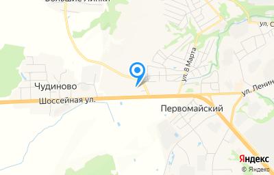 Местоположение на карте пункта техосмотра по адресу Владимирская обл, г Вязники