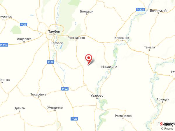 населенный пункт Иноковка на карте