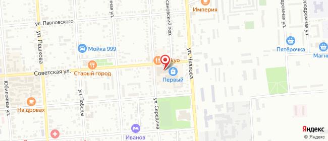 Карта расположения пункта доставки СИТИЛИНК в городе Борисоглебск