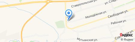 Склад-магазин на карте Ташлы