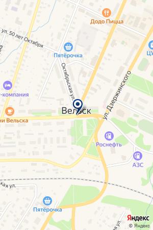 ТД ЗОИР на карте Вельска