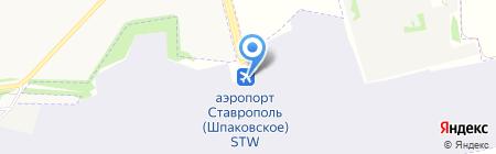 MAJORICA на карте Ставрополя