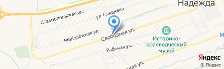 Продуктовый магазин на карте Ташлы