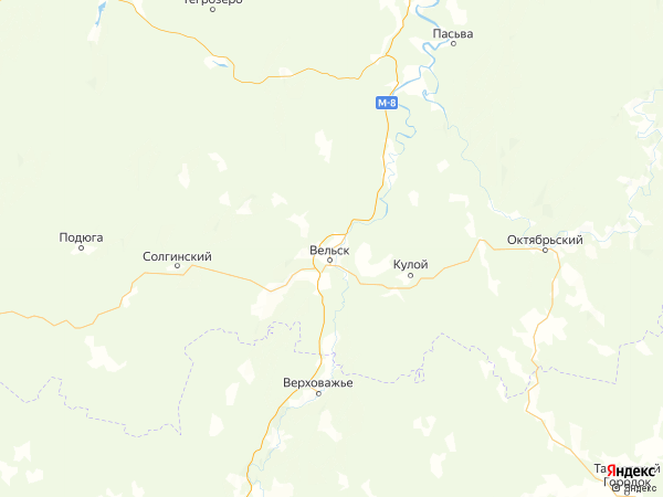 деревня Вороновская на карте