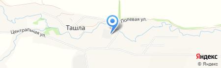 Мэри на карте Ташлы