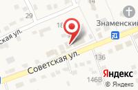 Схема проезда до компании Магазин в Надежде