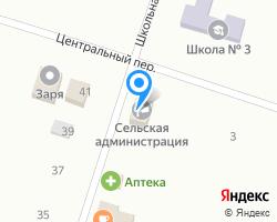 Схема местоположения почтового отделения 347470