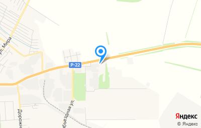 Местоположение на карте пункта техосмотра по адресу Воронежская обл, г Борисоглебск, ул Матросовская, зд 162