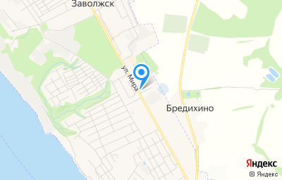 Местоположение на карте пункта техосмотра по адресу Ивановская обл, г Заволжск, ул Мира, д 31А стр 2