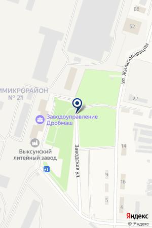 ЗАВОД КОРПУСОВ на карте Выксы