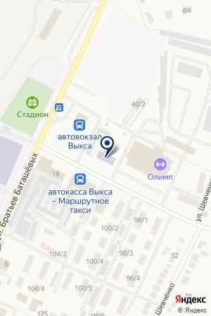 ВЫКСУНСКИЙ ФИЛИАЛ на карте Выксы