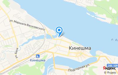 Местоположение на карте пункта техосмотра по адресу Ивановская обл, г Кинешма, ул Советская, д 30 стр 1
