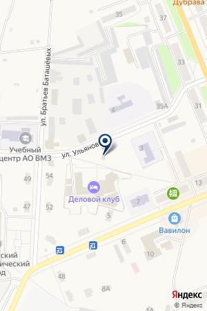 БУЛОЧНАЯ КАРАВАЙ на карте Выксы