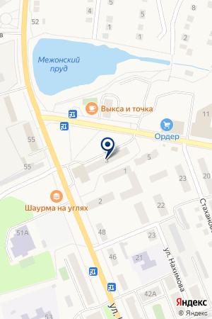МАГАЗИН СПОРТТОВАРЫ на карте Выксы