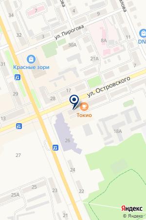 МАГАЗИН ЗООТОВАРОВ АКВАРИУМ на карте Выксы