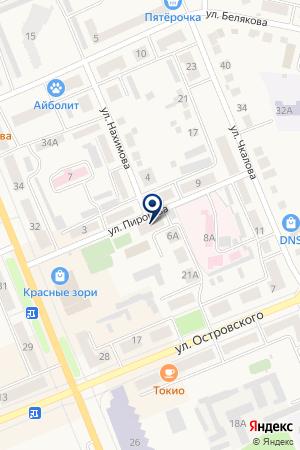 ДЕТСКАЯ МУЗЫКАЛЬНАЯ ШКОЛА на карте Выксы