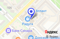 Схема проезда до компании РЕКЛАМНОЕ АГЕНТСТВО МАРКЕТ-ТВ в Волгодонске