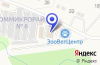 Схема проезда до компании ПТФ СОСНОВЫЙ БОР в Выксе
