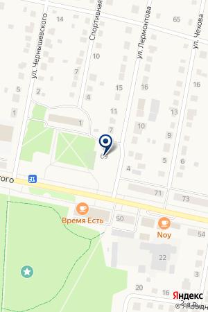 ГОСТИНИЦА РОССИЯ на карте Выксы