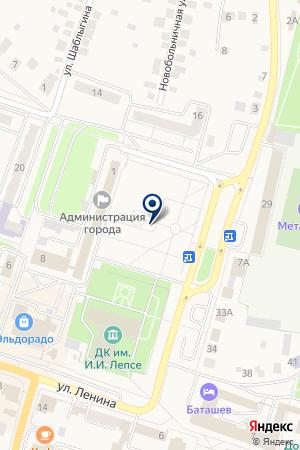 Г. ВЫКСА на карте Выксы