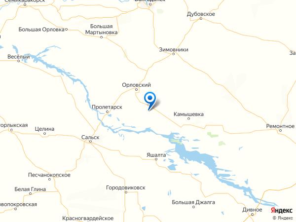 хутор Веселый на карте