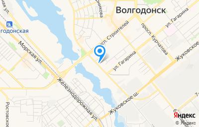 Местоположение на карте пункта техосмотра по адресу Ростовская обл, г Волгодонск, ул Весенняя, д 22